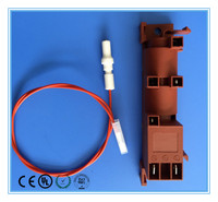 ignition flame sensor electrode for industrial gas furnace