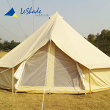 Quality guarantee china beige camper yurt luxury bell tent