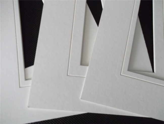 High Quality Mat Board Frame For Photography With V Groove