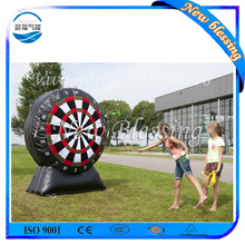 4M outdoor inflatable foot darts boards, giant inflatable soccer darts