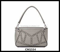 New Products High Quality Cheap Women Pu Leather Handbag
