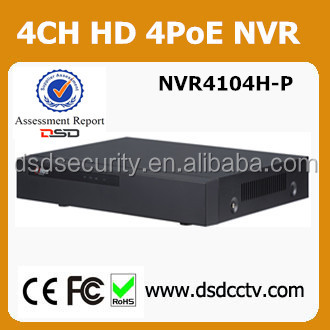 Dahua net digital video recorder 4poe nvr DH-NVR4104H-P