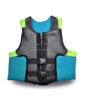 adult neoprene marine diving life jacket with high quality