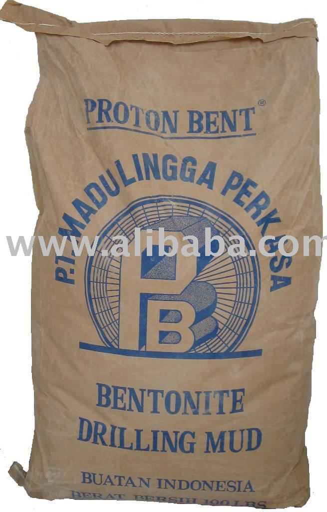 "Bentonite ""Proton Bent"" Drilling Mud API Spec.13A Sec.4 & Construction"