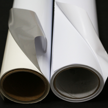 wholesale waterproof printing material roll advertising printable self adhesive film pvc vinyl sticker