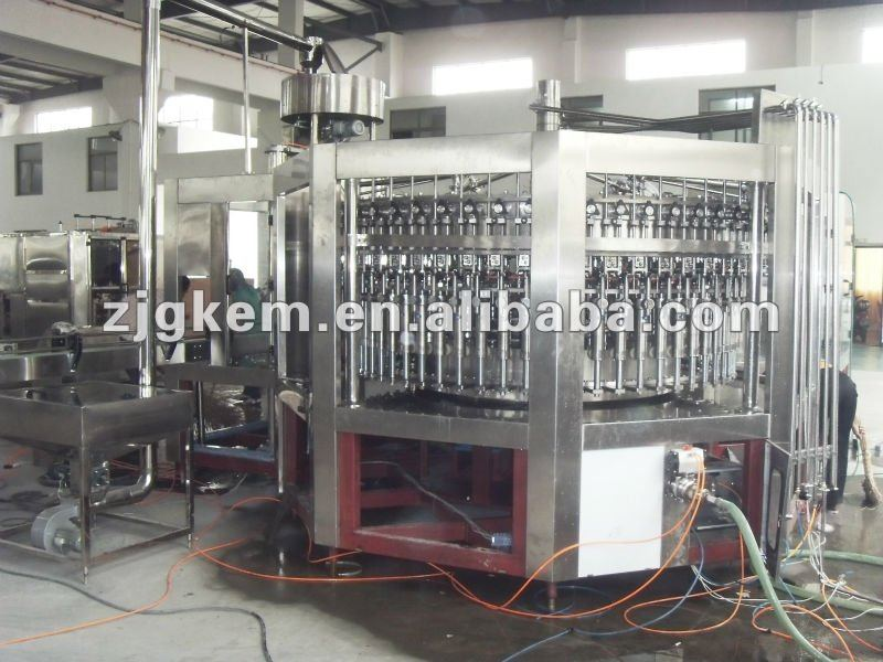Automatic 3-in-1 Alchol/Wine washing Filling and sealing Machine/System/device/unit