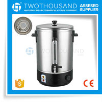 Electric to Boil Water Jug - 40 L, 1 Layer, S/S 201, Heating Plate, CE, TT-WB40SP