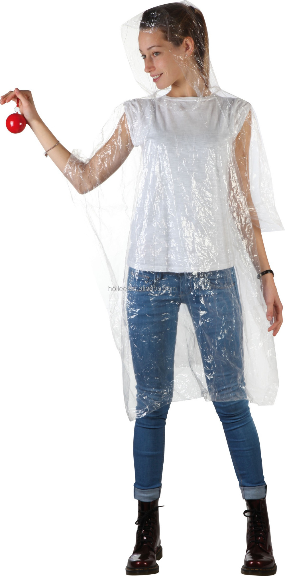 Hot selling ball rain poncho raincoat prices