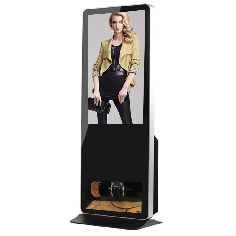 "43"" Shoes Polish Machine LCD Display Kiosk LCD Monitor"