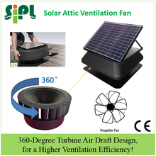 Poultry farms equipment ventilator, Solar Attic Exhaust Fan wieh brushless dc motor