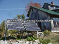 1.5kw off-grid solar power system for home , 1500 solar energy systen for house lighting