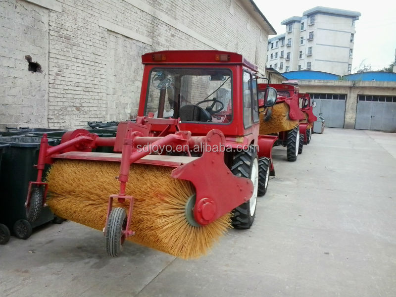 mini tractor mounted snow blower