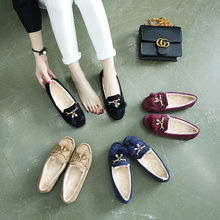 China factory price new style female flat shoes