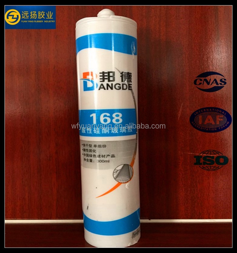 Acetic Silicone Glue Acid Silicone Sealant For Big Glass