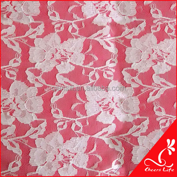 cheerslife-QS9122 lace fabric for floral curtains