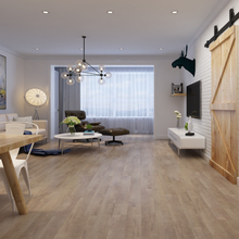 Grey wood grain matt HDF carb 12mm laminate <strong>flooring</strong>
