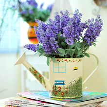 Different Color Artificial Lavender Flower For Interior and Wedding Decor