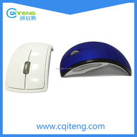 Arc Black Folding Wireless Bluetooth Mouse