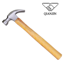 QJ-CH03 Wooden handle different types of claw hammers