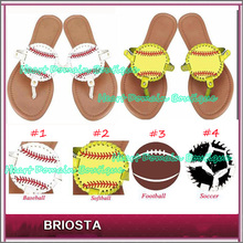 Monogram Baseball Sandal Sports Disc Sandals