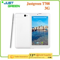 Dropshipping Cheap Tablet PC T708 MTK8312 2500 mAh WCDMA/GSM 3g call tablet