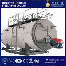 WNS 8t/h brand new horizontal industrial oil field /coal /natural gas fired steam boiler price