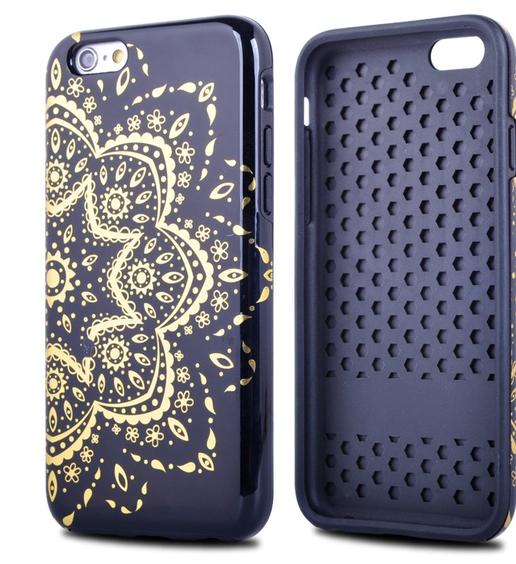 Custom Printed Dual Layer TPU PC Phone Case for iPhone 6