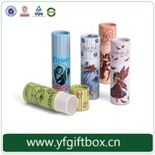 2016 suitable tube paper crayon/pencil set package box with color printing