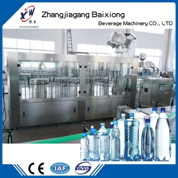 Pure Water Filling Machine All In One Mineral Water Filling Machine