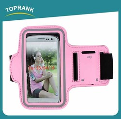 Toprank Neoprene mobile phone arm bag for Iphone 4/5 or Samsung