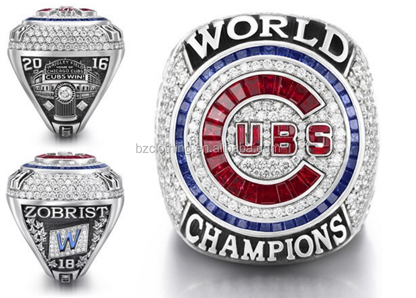 2016 MLB Chicago Cubs World Series Baseball Championship Replica Ring