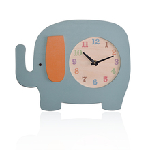 Multi-animals collections decoration kids home wall clocks