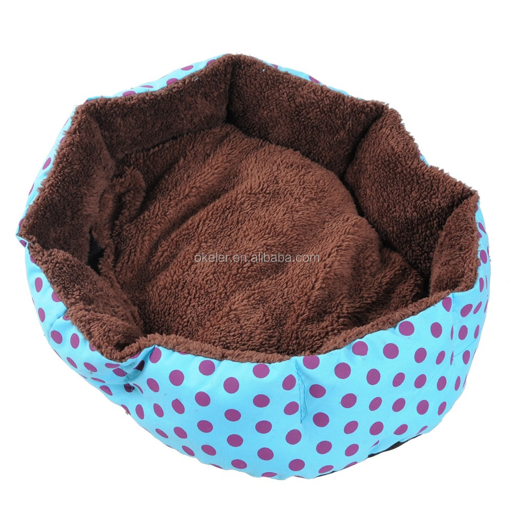2016 blue hot sale cute dog cat pet bed seat house