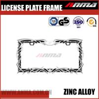 chrome motorcycle license plate frame