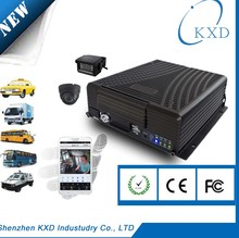 h.264 format 4 channels full AHD 720P real time mobile dvr for car, bus, lorry