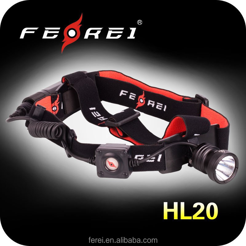 Extreme bright camping and hunting LED moving head lights Headlamp from FEREI HL20