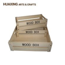 cheap wooden wine crates wholesale
