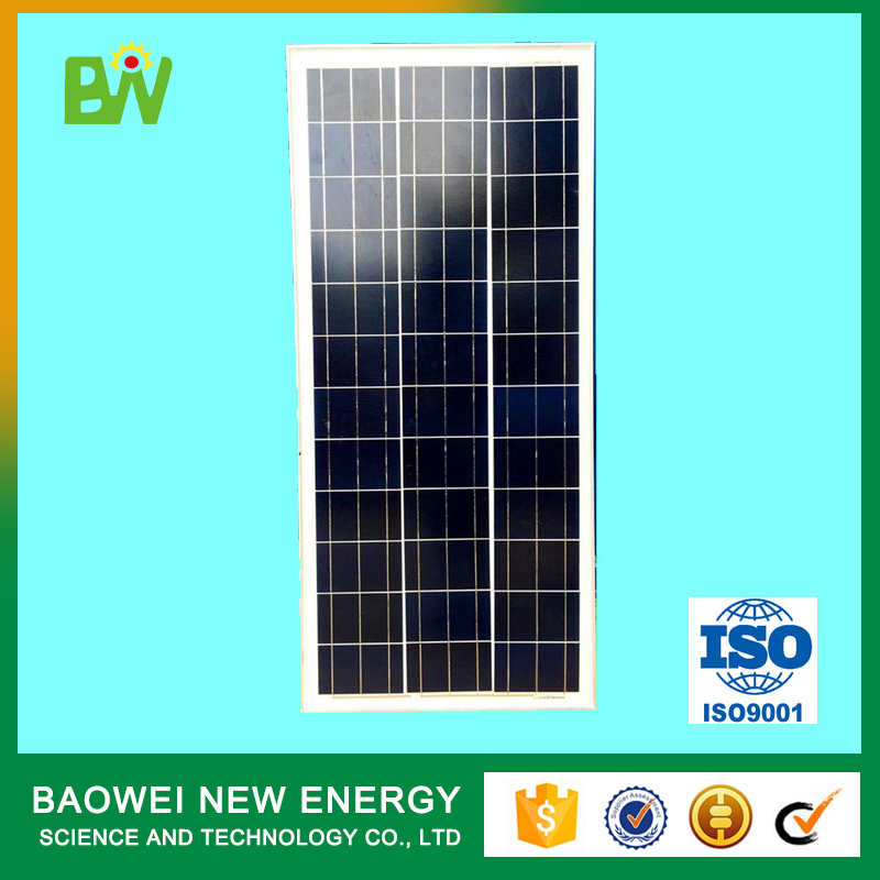 Mini specification 65w poly solar panel