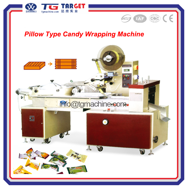 New Style Automatic Pillow type candy wrapping machine