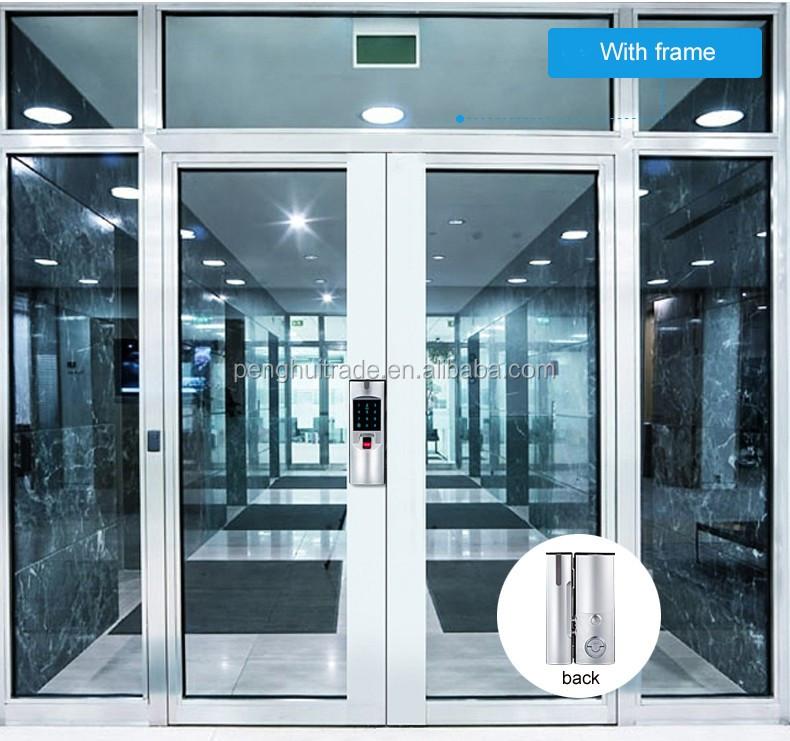 High Grade Remote Control Fingerprint Digital Card Glass Door