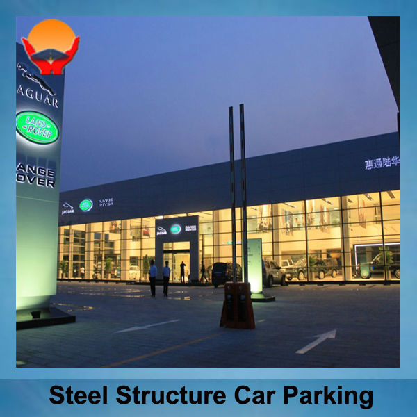 Galvanised Steel Structure Car Show Room
