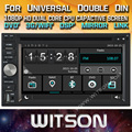 WITSON WINDOWS AUTO RADIO DVD PLAYER GPS FOR UNIVERSAL DOUBLE DIN DVD PLAYER