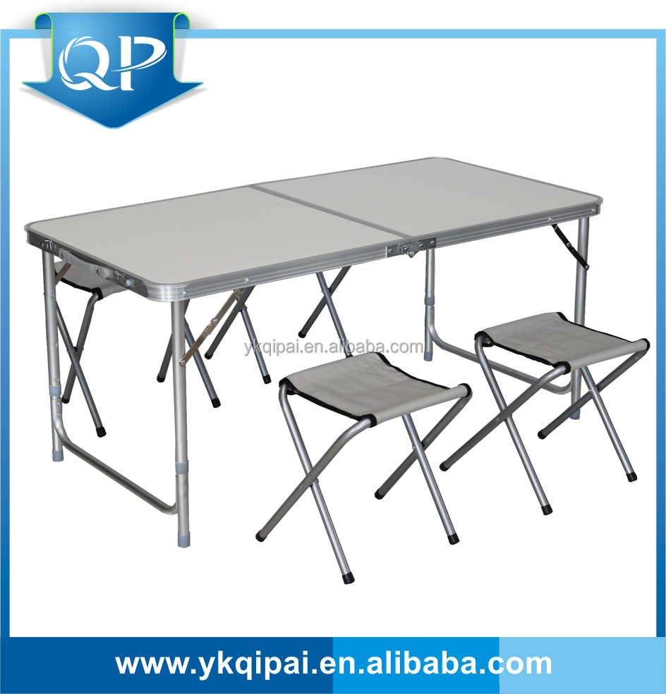 Aluminum Folding Table And Chair For Outdoor And Garden