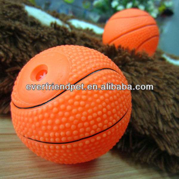 Pet Shop Products 6.5CM Basketball Dog Chew Toy