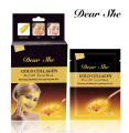 Dear She gold collagen peel off facial mask repairing the skin