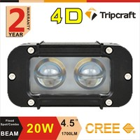 Guangzhou Factory quality 20w Aluminum housing led driving light bar for Car