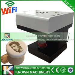 Inkjet A4 size coffee printer for printing photo and picture to coffee, candy,cake etc on hot sale