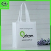 wholesale cheap eco folding reusable non woven tote zipper plastic shopping bag