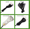 China made standard size fairway wood golf club head cover fw headcovers