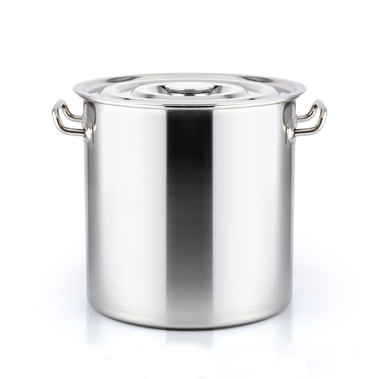 Factory 100L Stainless Steel Cook Pot / Large Pot With Flat Lid
